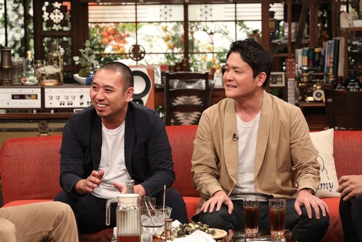 「さんまのまんま秋SP」にゲスト出演する千鳥。(c)関西テレビ