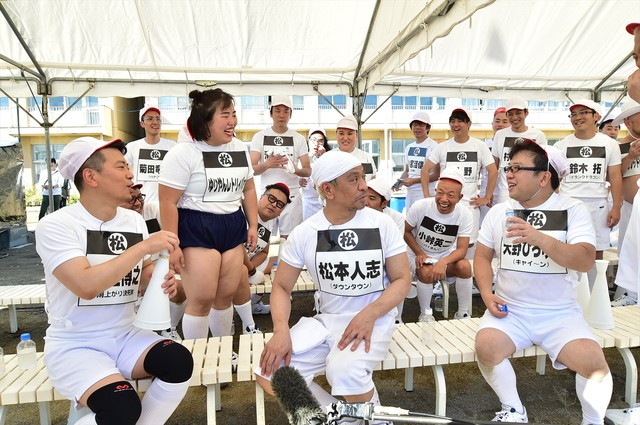 松本組の様子。(c)TBS