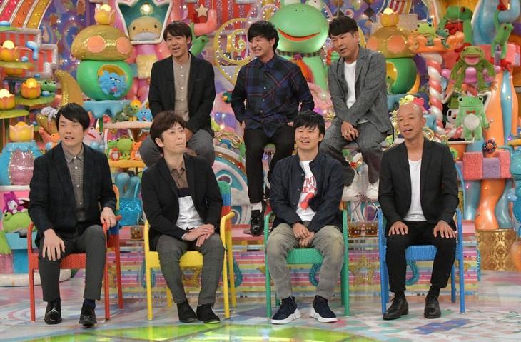 「アメトーーク!」に集結する「元々ボケやってたツッコミ芸人」たち。(c)テレビ朝日
