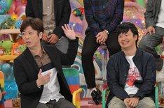 (左から)フットボールアワー後藤、オードリー若林。(c)テレビ朝日