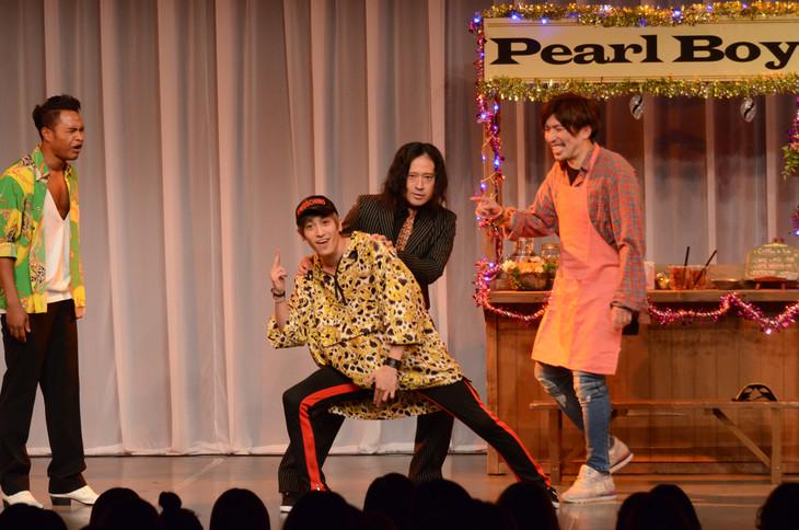 ピース又吉も参加した「チャラ喜劇」。