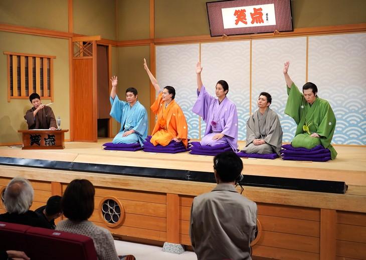 ドラマ「BS笑点ドラマスペシャル 五代目 三遊亭圓楽」より。