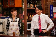有吉弘行と高橋真麻(左)。(c)関西テレビ
