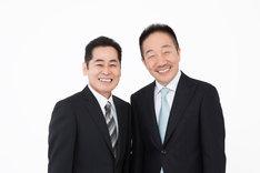 中田カウス・ボタン。左が中田ボタン。(c)YOSHIMOTO KOGYO CO.,LTD.