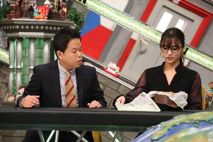 「全力!脱力タイムズ」に出演する(左から)ダイアン津田、石川恋。(c)フジテレビ