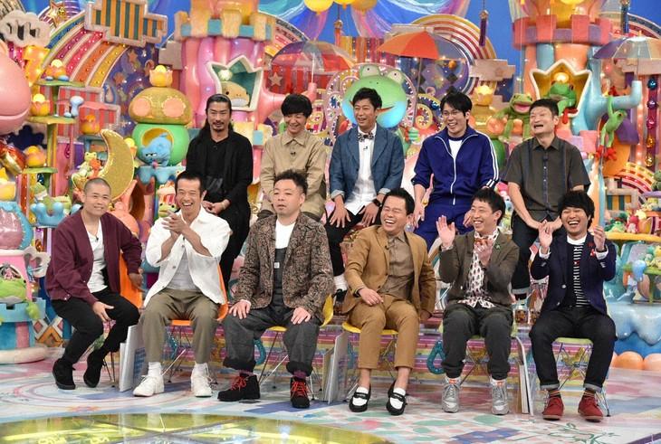 「アメトーーク!」で展開される「もっとやれるはずだったのに…2018反省会」の出演者たち。(c)テレビ朝日