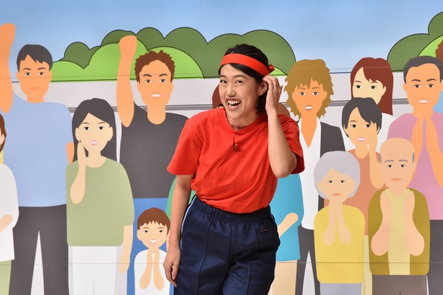 横澤夏子 (c)日本テレビ