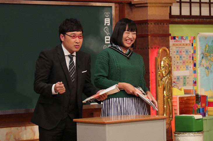 「しくじり先生 俺みたいになるな!! 2時間スペシャル」に出演する南海キャンディーズ。(c)テレビ朝日