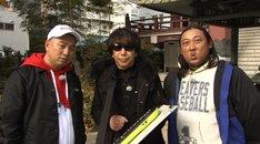 左からレイザーラモンRG、木根尚登、ロバート秋山。(c)日本テレビ