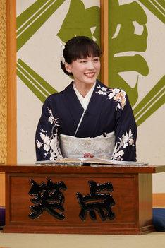 大喜利の司会に初挑戦する綾瀬はるか。(c)日本テレビ