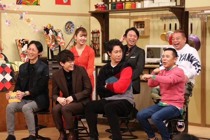 「ぐるナイおもしろ荘 若手にチャンスを頂戴!今年も誰か売れてSP」のワンシーン。(c)日本テレビ