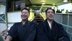 (左から)チョコレートプラネット長田、和泉元彌。