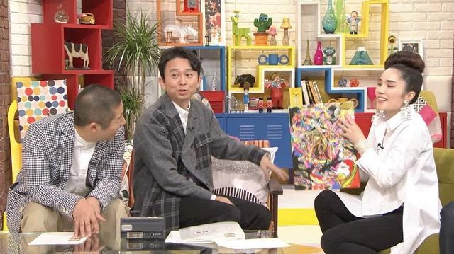 「ナレーター有吉」に出演する(左から)ハライチ澤部、有吉弘行、平野ノラ。(c)テレビ朝日