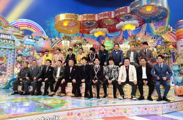 「アメトーーク大賞2018」の出演芸人たち。(c)テレビ朝日