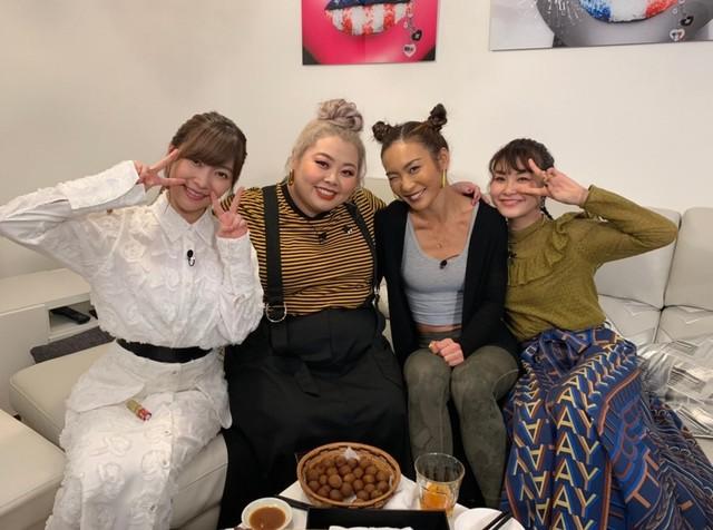 左から指原莉乃、渡辺直美、AYA、村上佳菜子。(c)日本テレビ