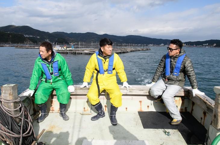 左からFUJIWARA、宮川大輔。(c)日本テレビ
