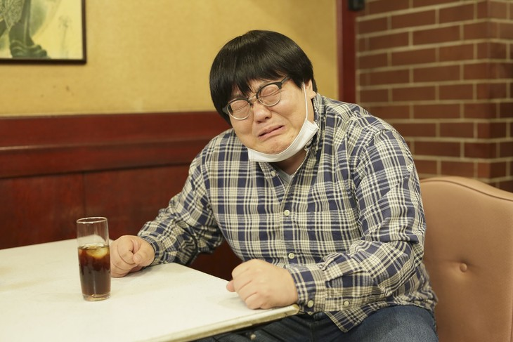 「名古屋行き最終列車2019」より、タイムマシーン3号・関出演シーン。(c)メ~テレ