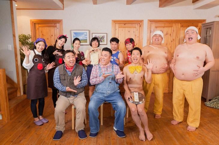 「ザキ山小屋」の出演者たち。(c)ABC