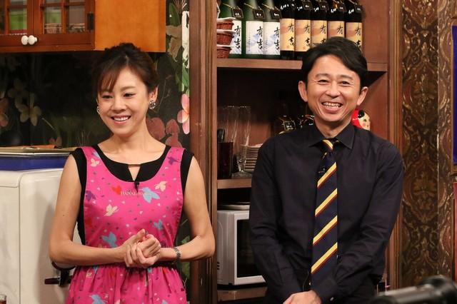 (左から)高橋真麻、有吉弘行。(c)関西テレビ