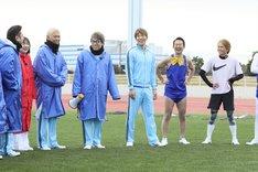 「ロンハースポーツテスト2019」のワンシーン。(c)テレビ朝日