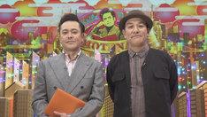 有田P(左)とゲストのピエール瀧(右)。(c)NHK