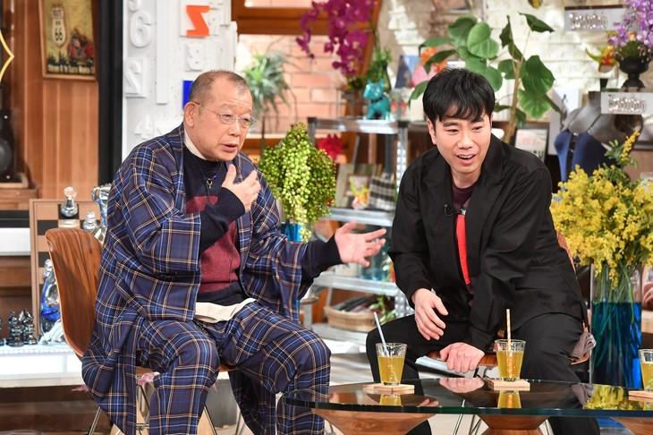 「A-Studio」に出演する(左から)笑福亭鶴瓶、藤井隆。(c)TBS