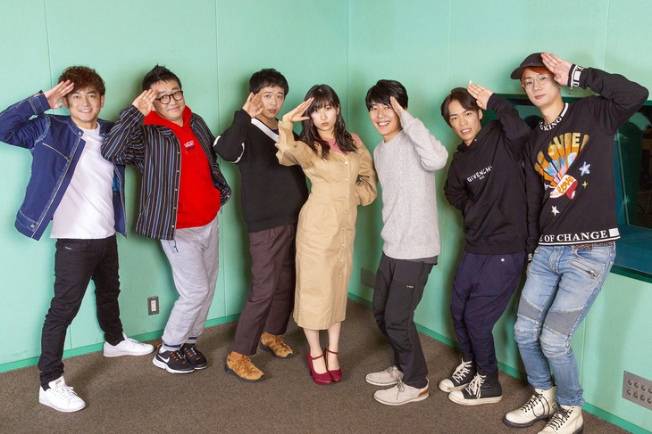 コメディショートアニメ「あはれ!名作くん」シーズン4で声優を務めるキャストたち。