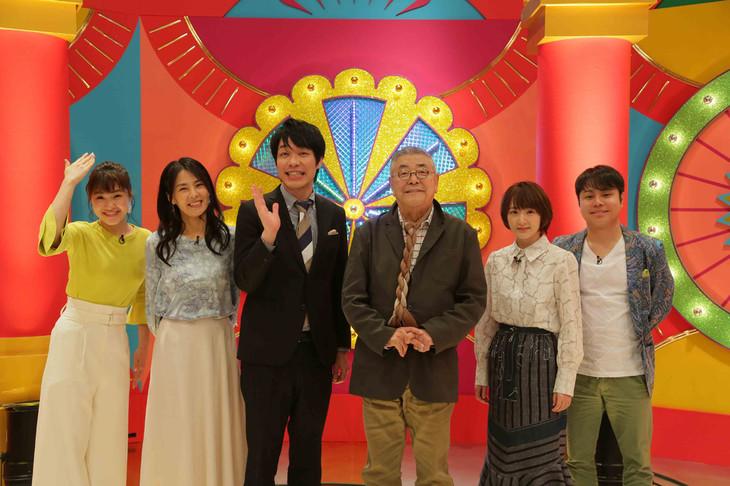 「境界調査バラエティー ニッポンのワケメ」の出演者。(c)NHK