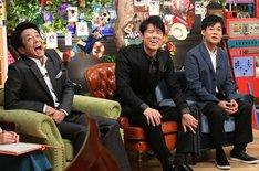 MCのネプチューン。(c)テレビ朝日