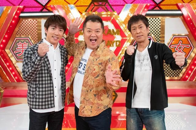 (左から)村上信五、ブラックマヨネーズ。(c)関西テレビ