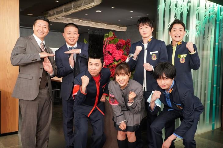 「グルメチキンレース ゴチになります!20」の参加者たち。(c)日本テレビ