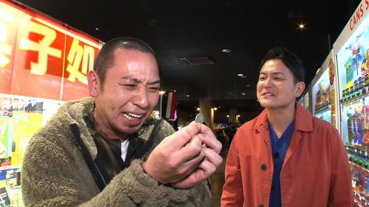 「テレビ千鳥」でゲームセンターロケを展開する千鳥。(c)テレビ朝日