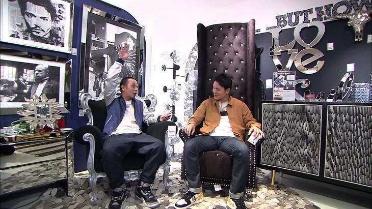 「テレビ千鳥」に出演する千鳥。(c)テレビ朝日