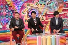 雨上がり決死隊と中川家・礼二(左)。(c)テレビ朝日