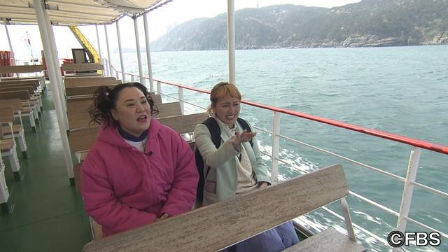 「お小遣い1万円!バービー★丸山佳里奈の韓国女子旅」のワンシーン。