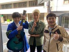 左からラニーノーズ、月亭方正。(c)テレビ大阪