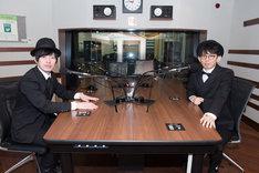 左から「SCHOOL OF LOCK!」のとーやま校長(グランジ遠山)とあしざわ教頭(パップコーン芦沢)。