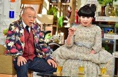 「A-Studio」に出演する(左から)笑福亭鶴瓶、黒柳徹子。(c)TBS