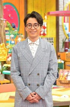 「令和初日SP!王様の夜ブランチ」に出演するオリエンタルラジオ藤森。(c)TBS