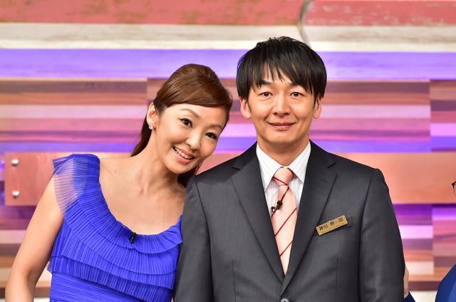 (左から)神田うの、ハマカーン神田。(c)TBS