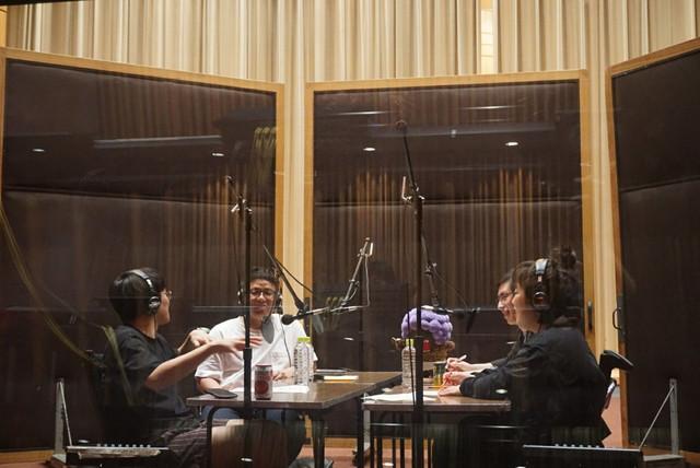 企画コーナー収録中のミキとゆりやんレトリィバァ。(c)NHK