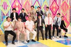 「今の若手はウラでこんな事やってます」の出演芸人たち。(c)テレビ朝日