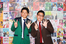 「Quick Japan 創刊25周年LIVE」の司会を務めたミキ。(撮影:神藤剛)