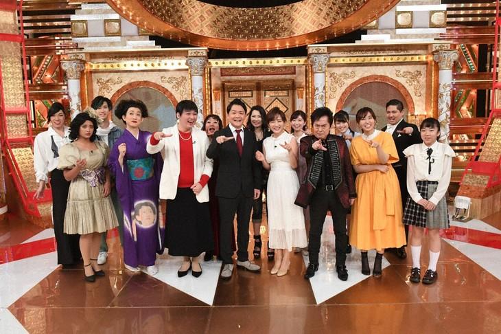 「世界一難しいカラオケ」の出演者たち。(c)テレビ朝日