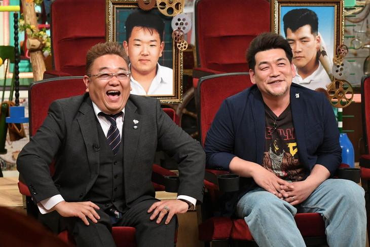 「あいつ今何してる?」に出演するサンドウィッチマン。(c)テレビ朝日