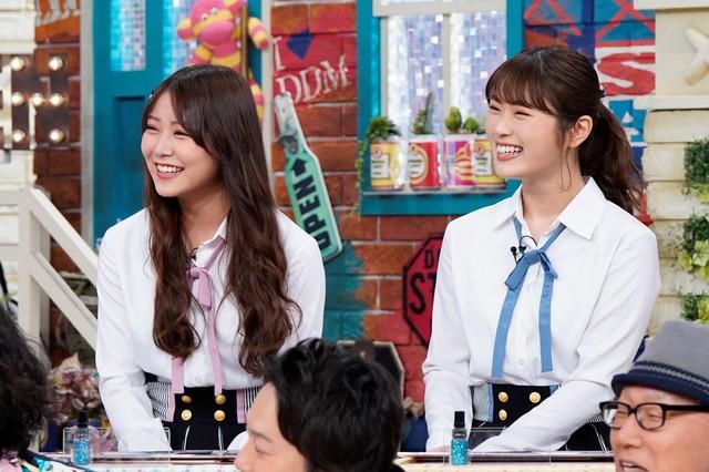 左から白間美瑠、渋谷凪咲。(c)読売テレビ