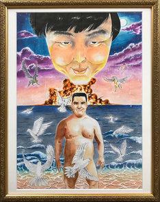 ジェラードン西本が描いた絵画。