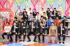 先輩たちの噂について語る若手芸人たち。(c)テレビ朝日