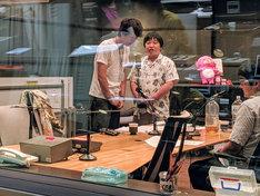「ラジオで単独LIVE~これぞ!ニッポンの社長~」収録中の様子。