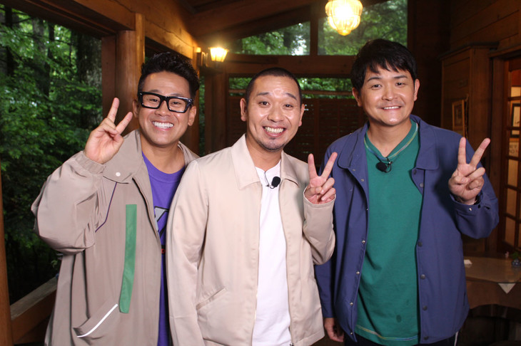 左から宮川大輔、千鳥。(c)テレビ信州